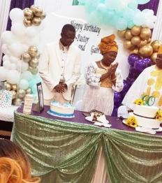Pastor John & Gabriel's Birthday Celebration
